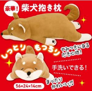 いぬのきもち9月号プレゼント柴犬抱き枕